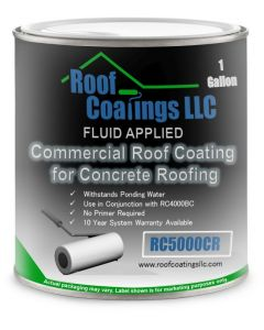 RC5000CR Concrete Roof Repair Coating White