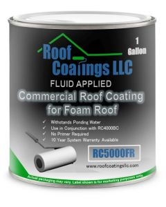 RC5000FR Modified Acrylic Elastomeric Coating for Foam Roofing