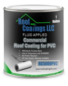 RC5000PVC Modified Acrylic Coating for Weathered PVC Roofs